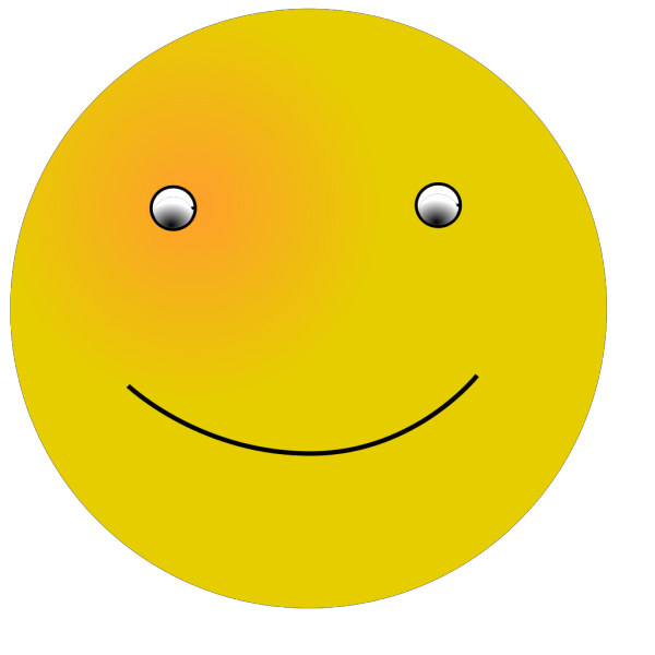Cartoon Smiling Face PNG Clip art