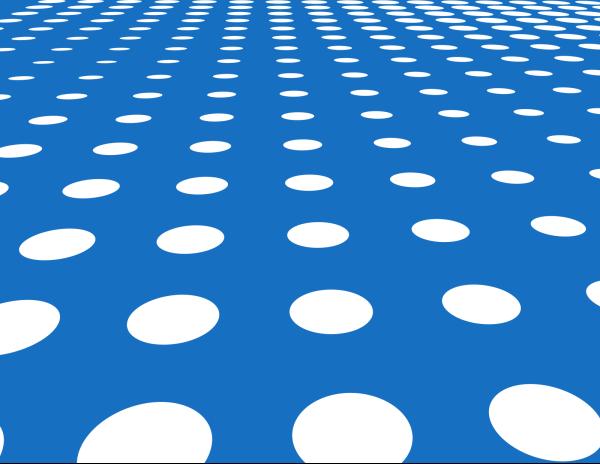 Blue Bunny Polka Dot Silhouette PNG Clip art