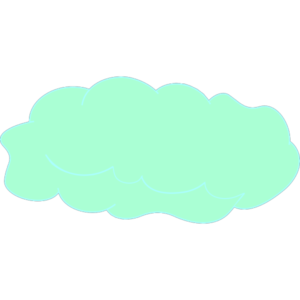 Skyline With Clouds PNG Clip art