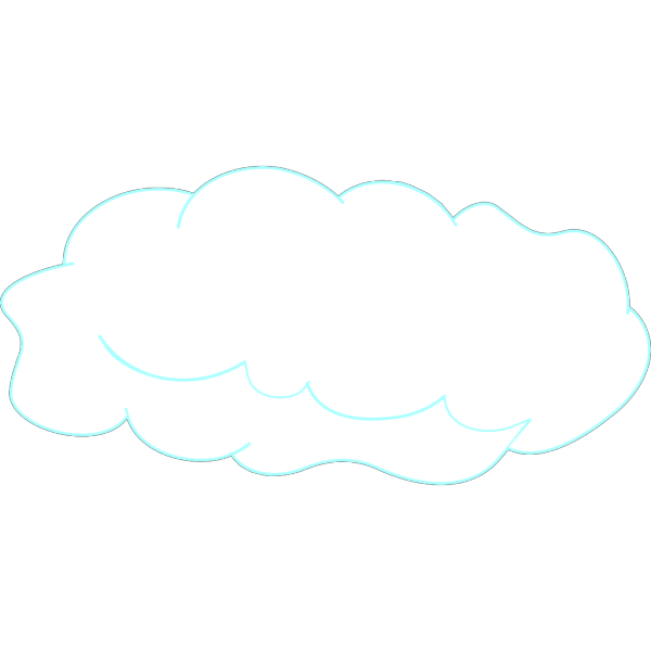 Skyline With Clouds 2 PNG Clip art