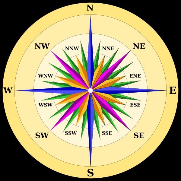 Compass West Trans PNG Clip art