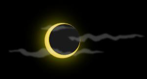 Blue Moon Crescent PNG Clip art