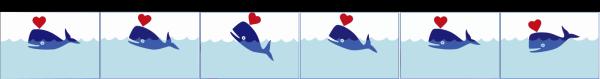 Light Blue Whale PNG Clip art