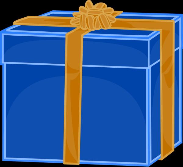 Blue Gray Box PNG Clip art