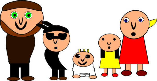 Turqoise Blue Family PNG Clip art