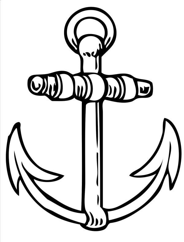 Blue Anchor PNG Clip art