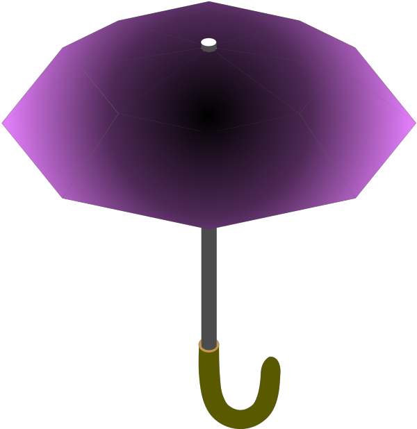 Turquoise Umbrella PNG Clip art