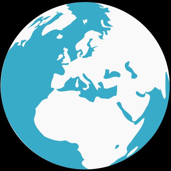 Blue World PNG Clip art