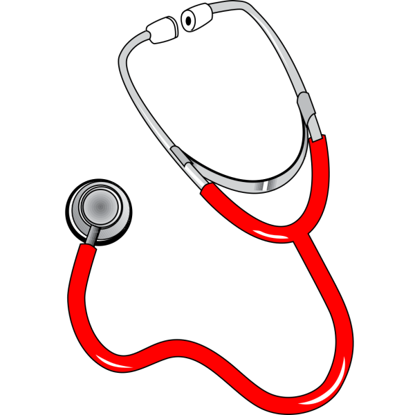 Red Stethoscope PNG images