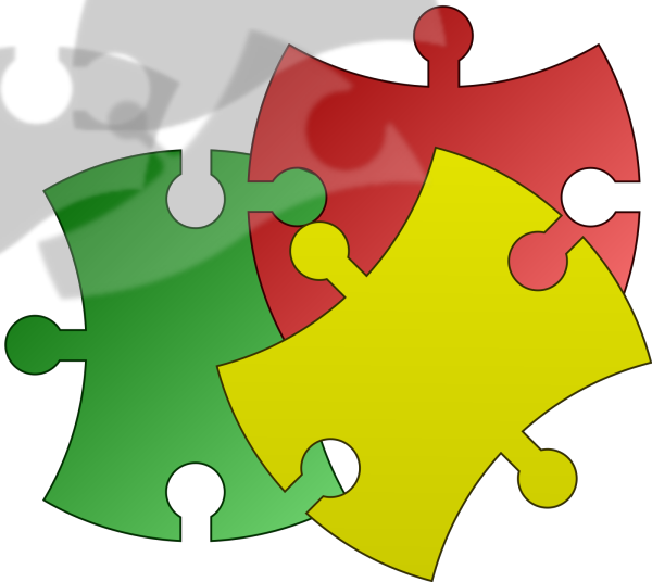 Puzzle Logo PNG Clip art