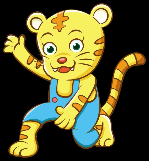 Blue Cheetah PNG Clip art