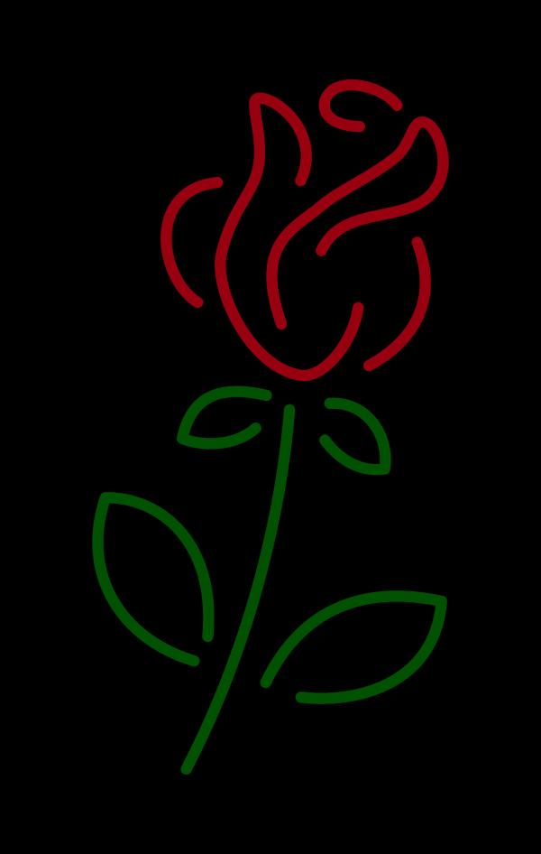 Blue Rose PNG Clip art