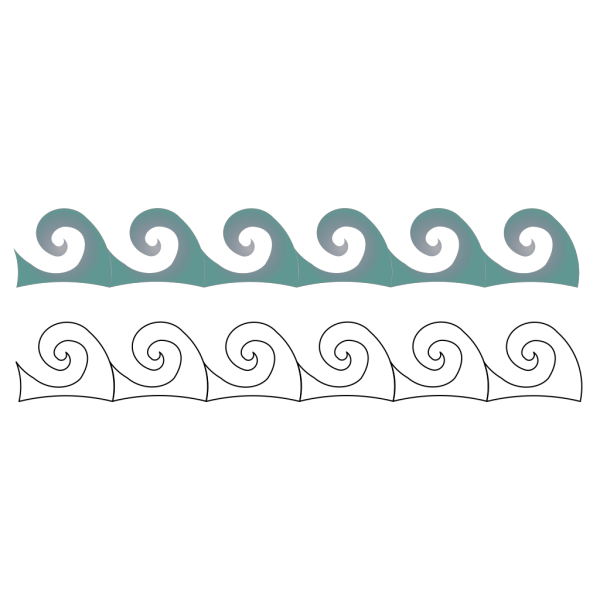 Ship On Waves PNG image