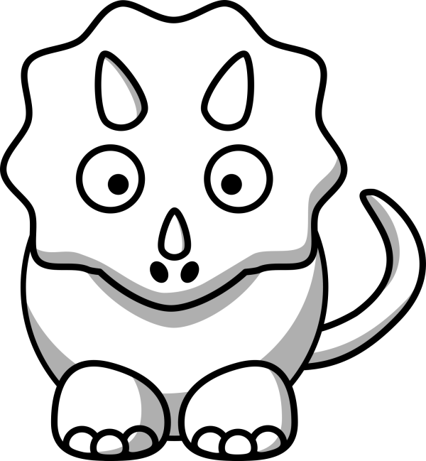 Triceratops PNG Clip art