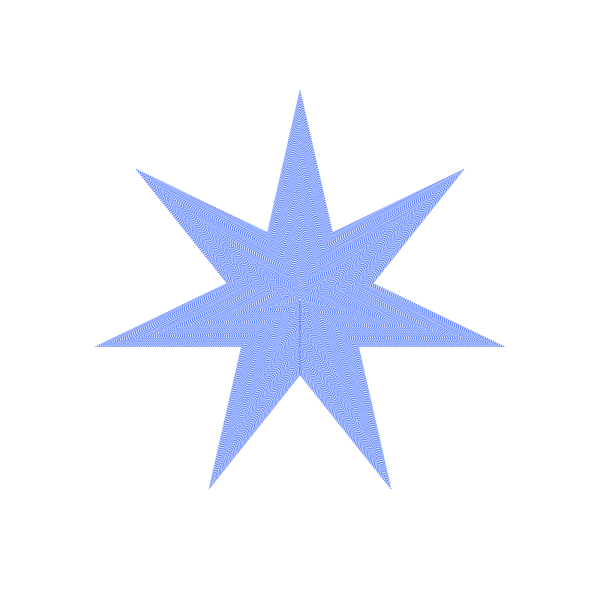 Star-blue PNG Clip art