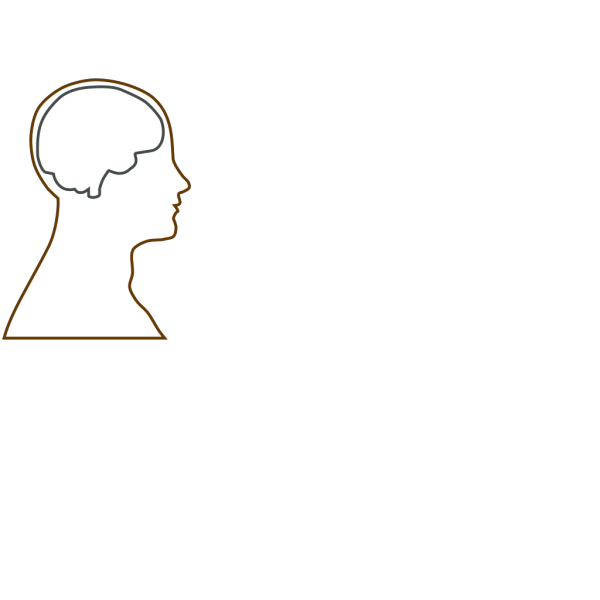 Head And Brain Outline PNG Clip art