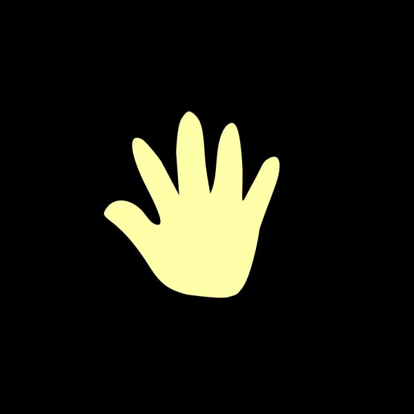 Blue Cartoon Hand PNG Clip art