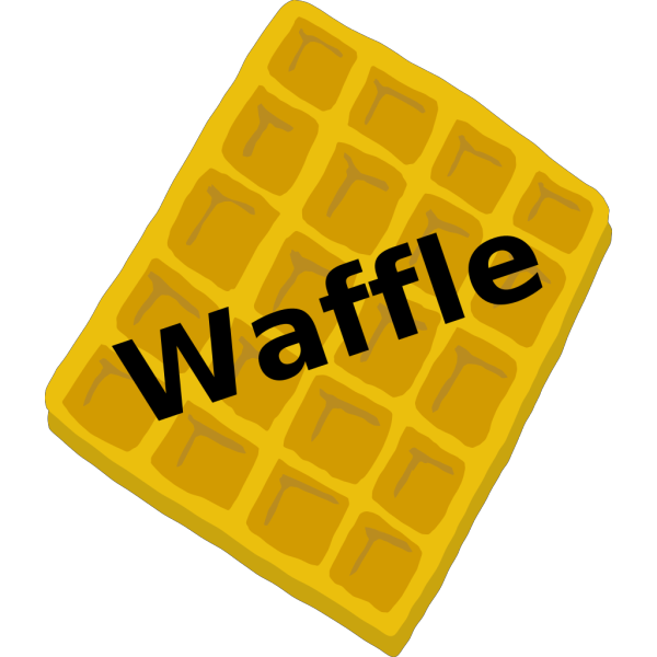 Waffle Blue PNG images