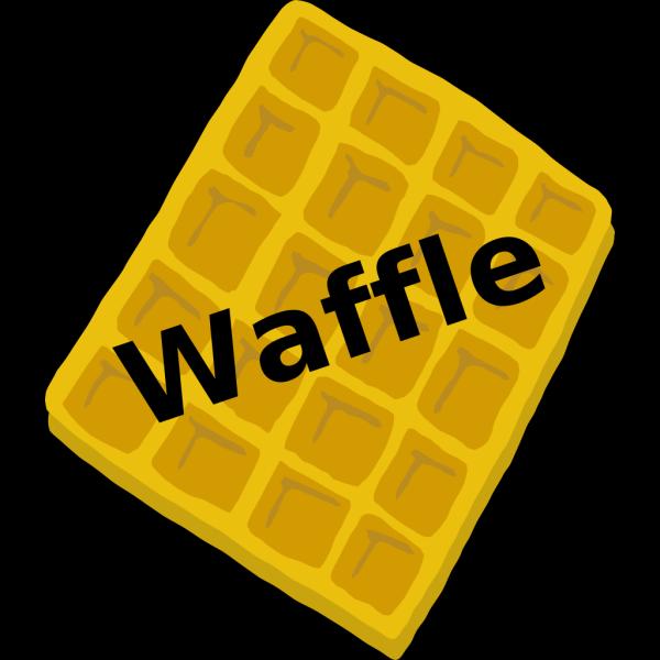 Waffle Blue PNG Clip art