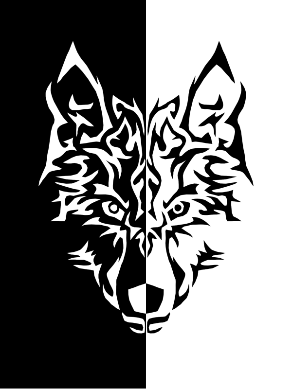 Blue Wolf PNG Clip art
