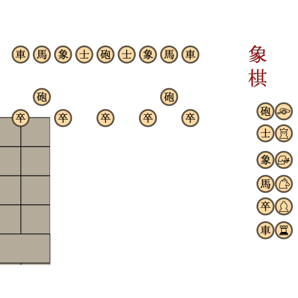 Chinese Chessboard PNG images