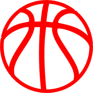 Red Basketball PNG Clip art