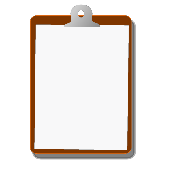 Yellow, Red, Blue Clipboard PNG clipart