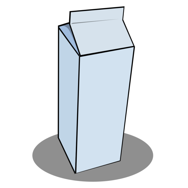 Pint Milk Carton PNG Clip art