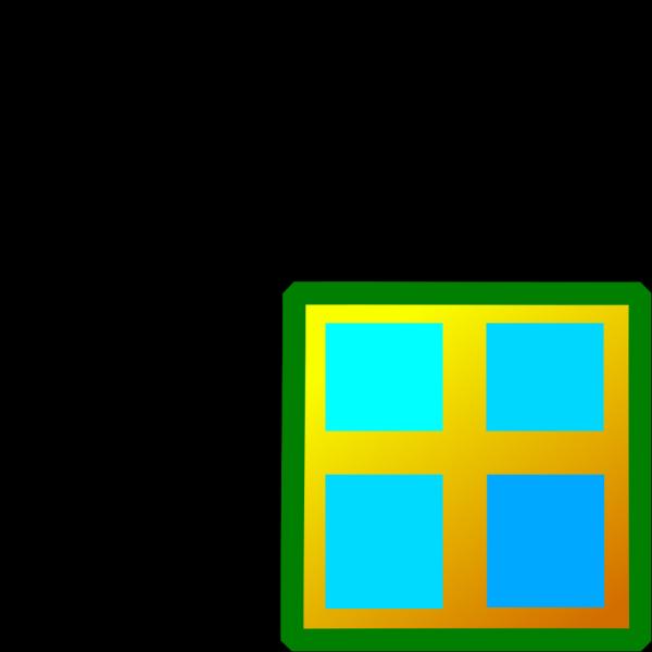 Firebog Blue Window PNG Clip art