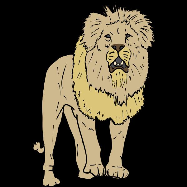 Lion 4 PNG Clip art