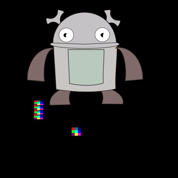 Robot PNG Clip art