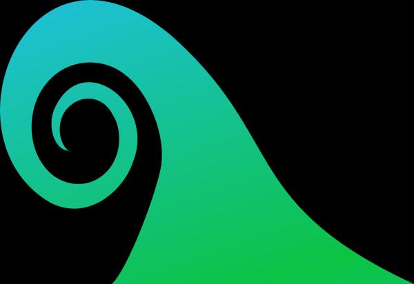 Blue Ocean Waves PNG Clip art