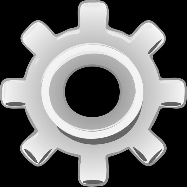 Gear Piece PNG Clip art