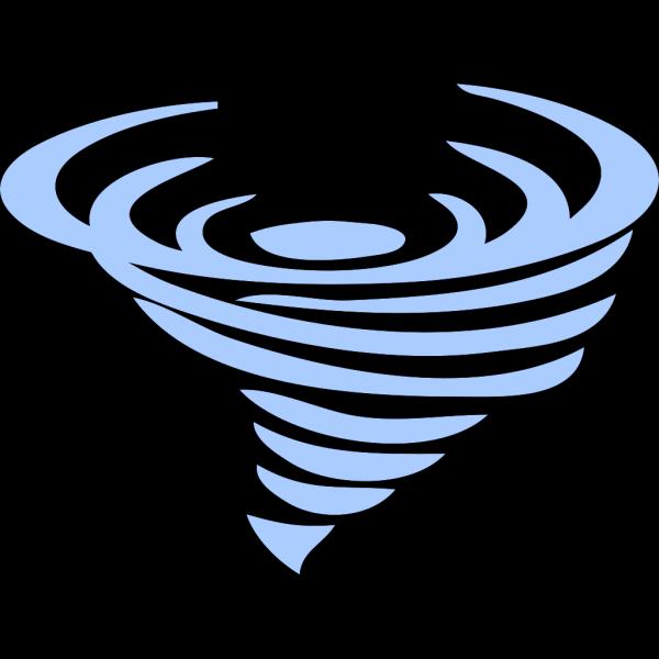 Tornado; Blue PNG images