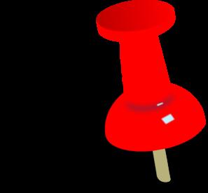 Blue Push Pin PNG Clip art
