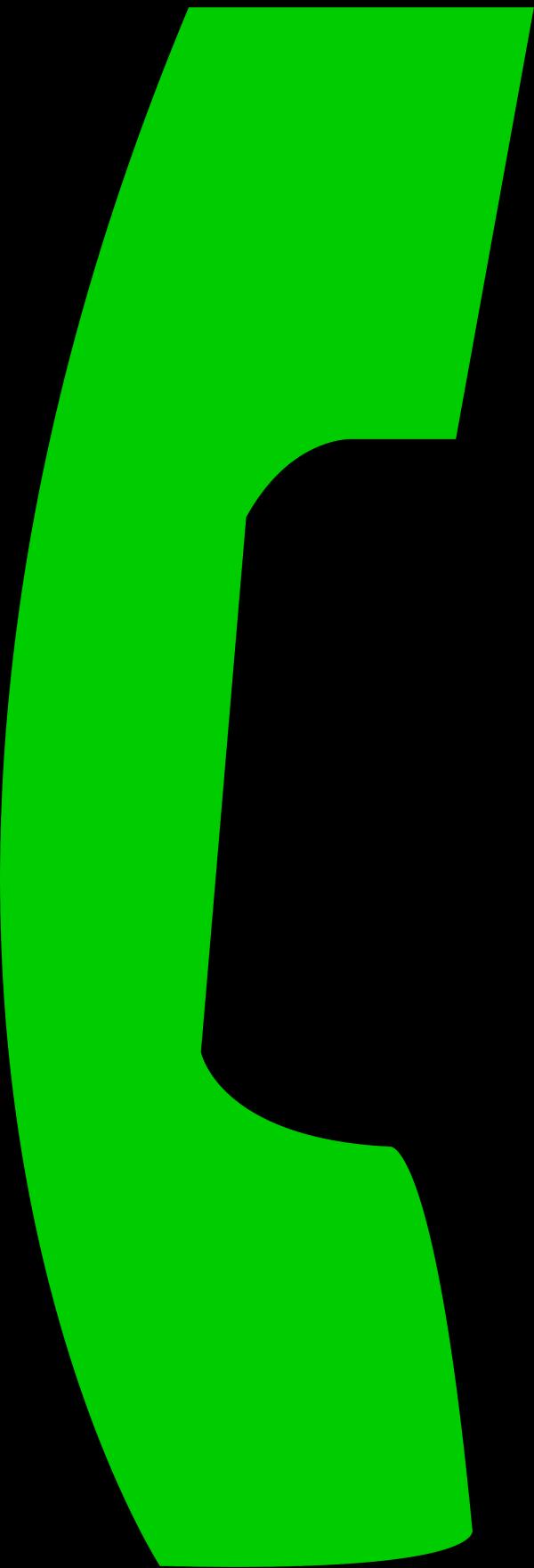 Big Phone Green PNG Clip art