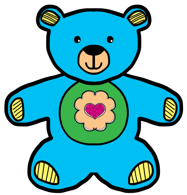 Teddy, Baby Blue PNG Clip art