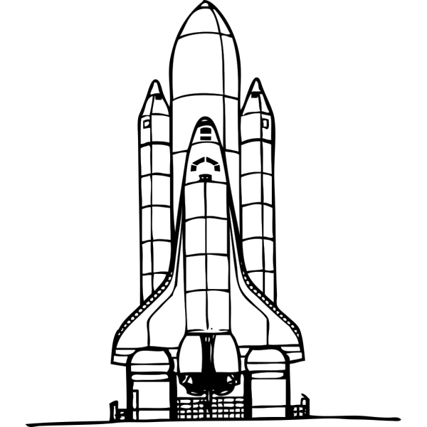 Space Shuttle Liftoff PNG images