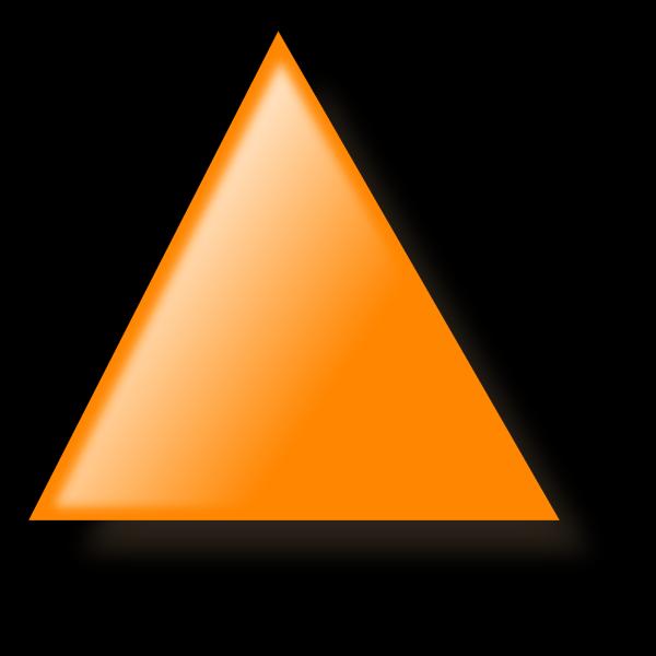 Tshirt Orange 03 PNG Clip art