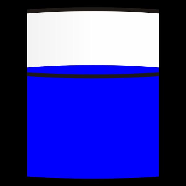 Light Blue Petri Dish Open PNG Clip art