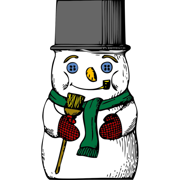 Another Snowman PNG Clip art