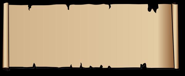 Blue Scroll Border PNG Clip art