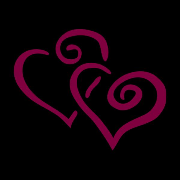 Hearts In Heart Enhanced 2 PNG Clip art