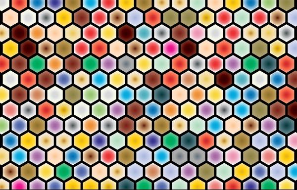 Perspective Grid Flat Blue PNG Clip art