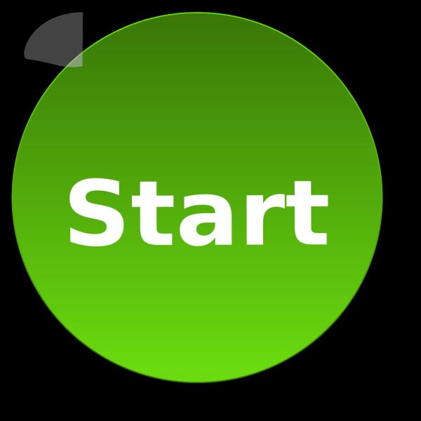Start Button PNG Clip art