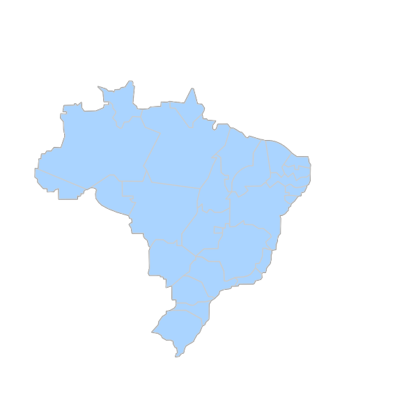 Mapa Brasil Regionais PNG images