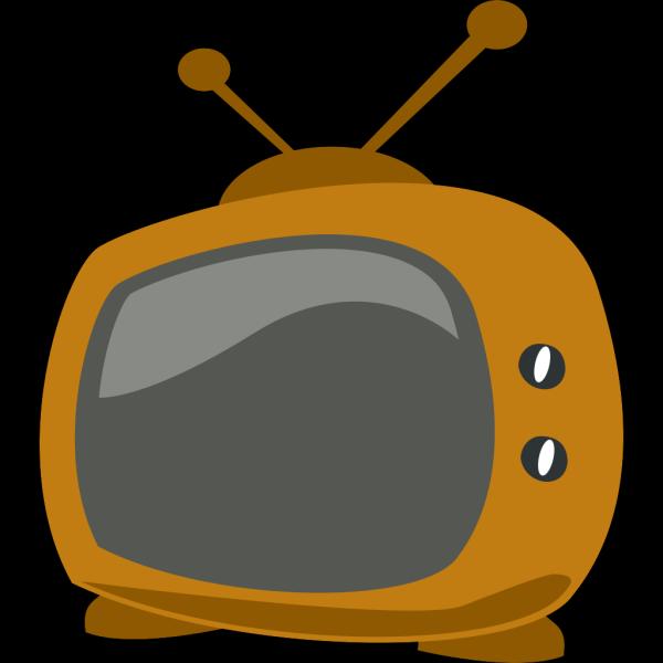 Blue Cartoon Tv PNG Clip art