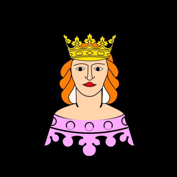 Queen Crown Gray Blue PNG Clip art