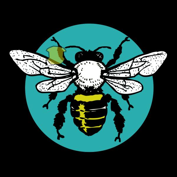 Blue Bee Tiara PNG Clip art