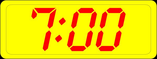 Blue Clock PNG Clip art